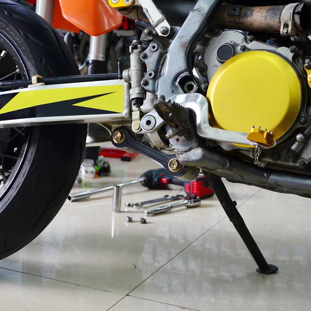 Billet Rear Suspension Lowering Drop Links Kit For Suzuki DRZ400E 2000-2019 Blue