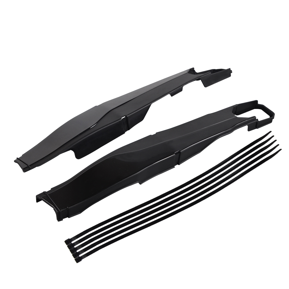 2Pcs Black Swing Arm Protection For KTM EXC /& EXCF 2012-2019