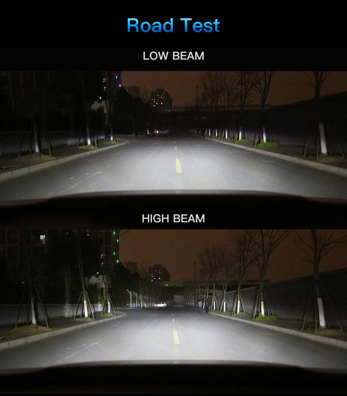 4x H1 For Honda CR-V 2005-2006 CRV LED Headlight High Low