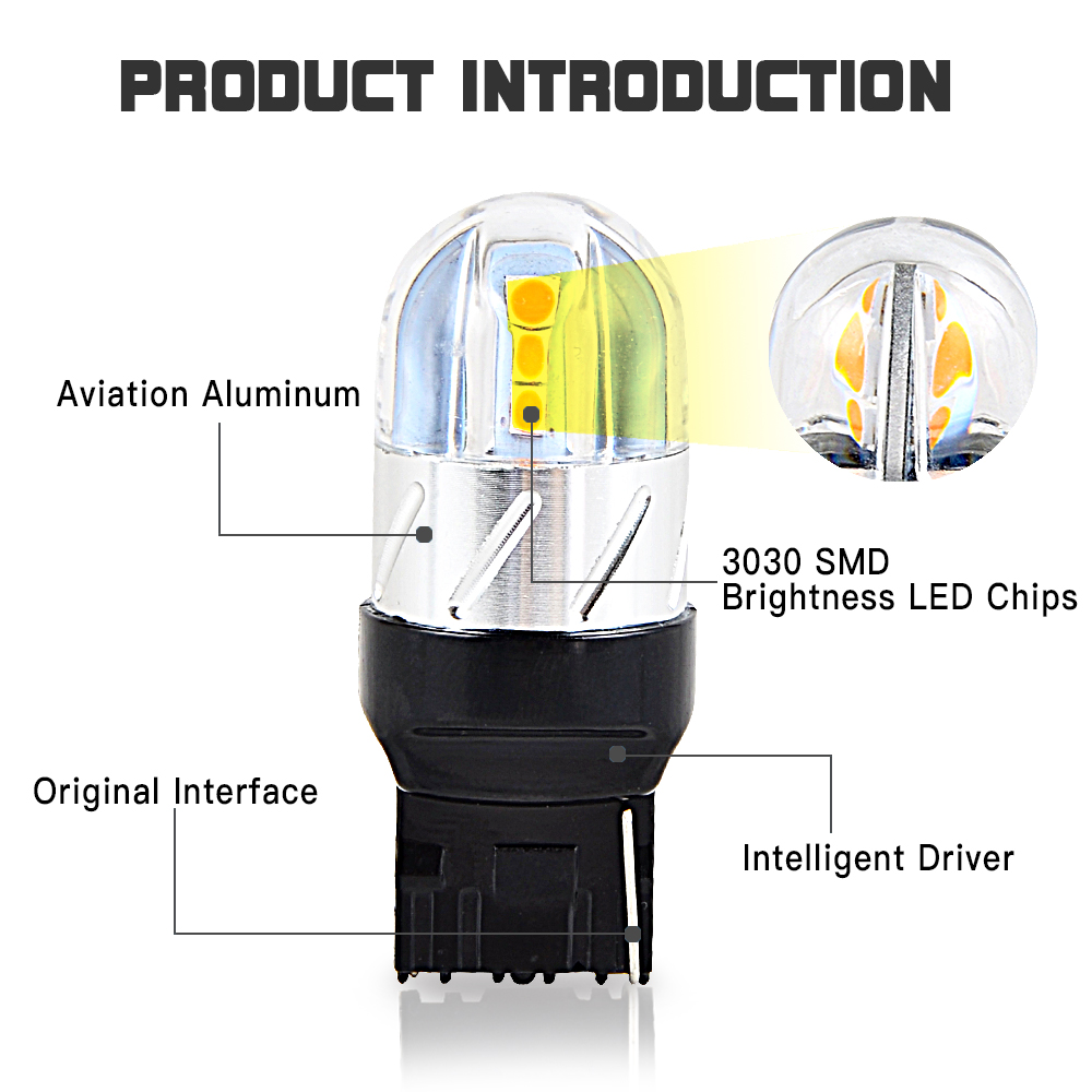For Acura MDX 2007-2013 18x LED Interior Bulbs Reverse