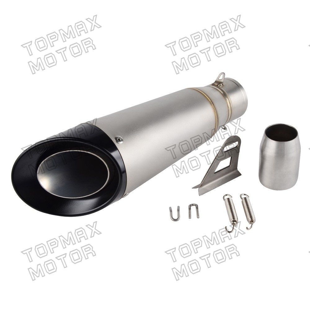 universal exhaust muffler db killer fit fit 125cc 500cc. Black Bedroom Furniture Sets. Home Design Ideas